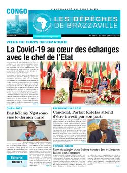 Les Dépêches de Brazzaville : Édition brazzaville du 05 janvier 2021