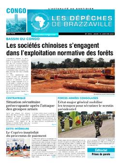 Les Dépêches de Brazzaville : Édition brazzaville du 14 janvier 2021