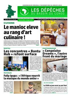 Les Dépêches de Brazzaville : Édition du 6e jour du 30 janvier 2021