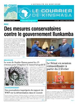 Les Dépêches de Brazzaville : Édition brazzaville du 02 février 2021