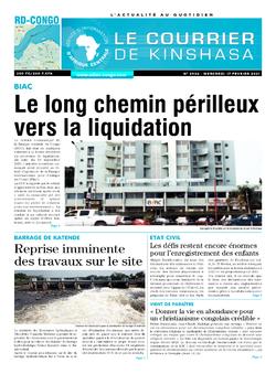 Les Dépêches de Brazzaville : Édition brazzaville du 17 février 2021