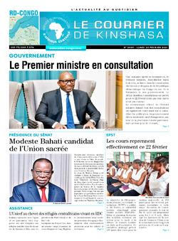 Les Dépêches de Brazzaville : Édition brazzaville du 22 février 2021