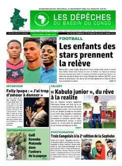 Les Dépêches de Brazzaville : Édition du 6e jour du 27 février 2021