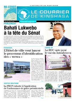 Les Dépêches de Brazzaville : Édition brazzaville du 04 mars 2021