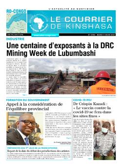 Les Dépêches de Brazzaville : Édition brazzaville du 09 mars 2021