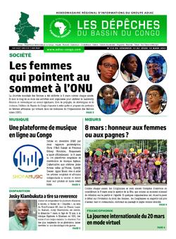 Les Dépêches de Brazzaville : Édition du 6e jour du 13 mars 2021
