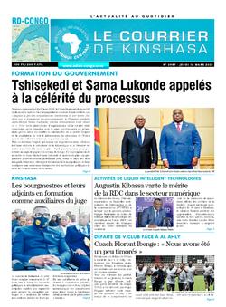 Les Dépêches de Brazzaville : Édition brazzaville du 18 mars 2021
