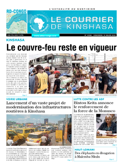 Les Dépêches de Brazzaville : Édition brazzaville du 19 mars 2021