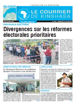 Les Dépêches de Brazzaville : Édition brazzaville du 24 mars 2021