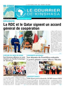 Les Dépêches de Brazzaville : Édition brazzaville du 30 mars 2021