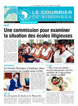 Les Dépêches de Brazzaville : Édition brazzaville du 06 avril 2021