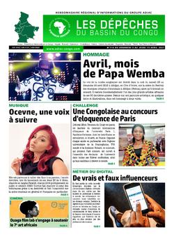 Les Dépêches de Brazzaville : Édition du 6e jour du 10 avril 2021