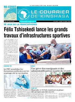 Les Dépêches de Brazzaville : Édition brazzaville du 14 avril 2021
