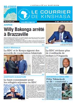 Les Dépêches de Brazzaville : Édition brazzaville du 22 avril 2021