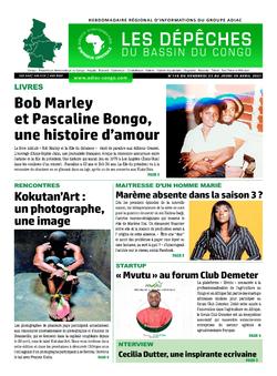 Les Dépêches de Brazzaville : Édition du 6e jour du 24 avril 2021