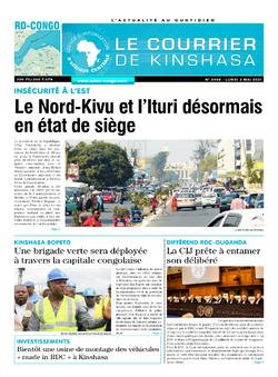 Les Dépêches de Brazzaville : Édition brazzaville du 03 mai 2021