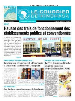 Les Dépêches de Brazzaville : Édition brazzaville du 11 mai 2021