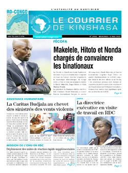 Les Dépêches de Brazzaville : Édition brazzaville du 18 mai 2021