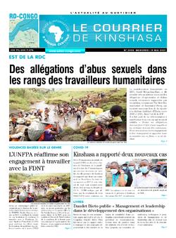 Les Dépêches de Brazzaville : Édition brazzaville du 19 mai 2021