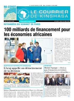 Les Dépêches de Brazzaville : Édition brazzaville du 20 mai 2021