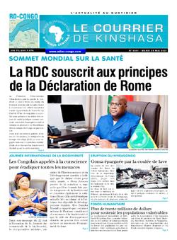 Les Dépêches de Brazzaville : Édition brazzaville du 25 mai 2021
