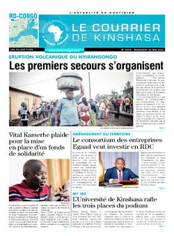 Les Dépêches de Brazzaville : Édition brazzaville du 26 mai 2021
