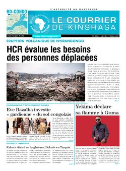 Les Dépêches de Brazzaville : Édition brazzaville du 27 mai 2021