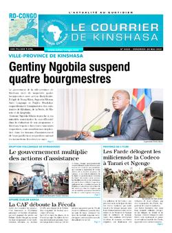 Les Dépêches de Brazzaville : Édition brazzaville du 28 mai 2021