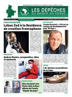 Les Dépêches de Brazzaville : Édition du 6e jour du 29 mai 2021