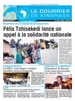Les Dépêches de Brazzaville : Édition brazzaville du 01 juin 2021