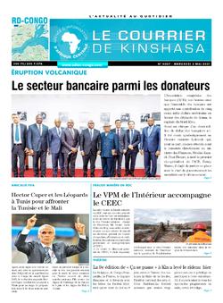 Les Dépêches de Brazzaville : Édition brazzaville du 02 juin 2021