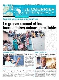Les Dépêches de Brazzaville : Édition brazzaville du 04 juin 2021