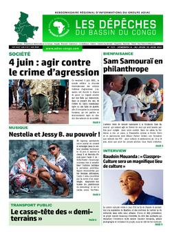 Les Dépêches de Brazzaville : Édition du 6e jour du 05 juin 2021