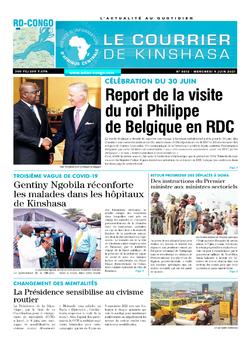 Les Dépêches de Brazzaville : Édition brazzaville du 09 juin 2021