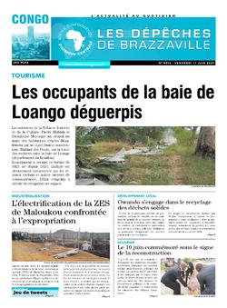 Les Dépêches de Brazzaville : Édition brazzaville du 11 juin 2021