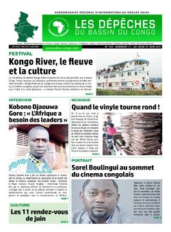 Les Dépêches de Brazzaville : Édition du 6e jour du 12 juin 2021