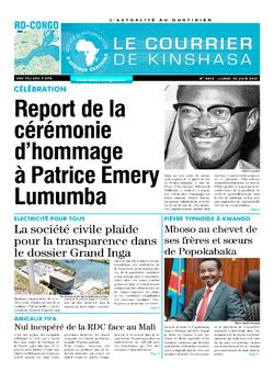 Les Dépêches de Brazzaville : Édition brazzaville du 14 juin 2021
