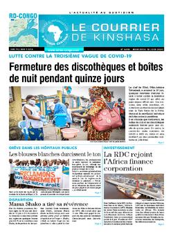 Les Dépêches de Brazzaville : Édition brazzaville du 16 juin 2021