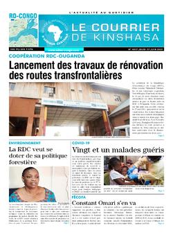 Les Dépêches de Brazzaville : Édition brazzaville du 17 juin 2021