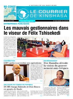 Les Dépêches de Brazzaville : Édition brazzaville du 22 juin 2021
