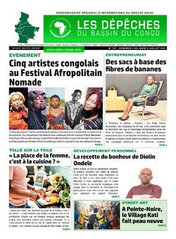 Les Dépêches de Brazzaville : Édition du 6e jour du 03 juillet 2021