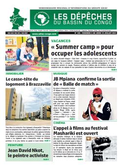 Les Dépêches de Brazzaville : Édition brazzaville du 09 juillet 2021