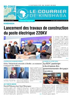 Les Dépêches de Brazzaville : Édition brazzaville du 30 juillet 2021