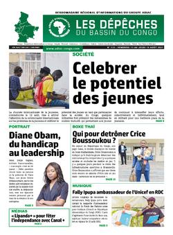Les Dépêches de Brazzaville : Édition du 6e jour du 14 août 2021