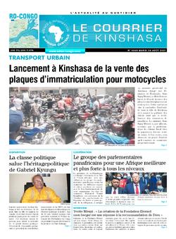 Les Dépêches de Brazzaville : Édition brazzaville du 24 août 2021