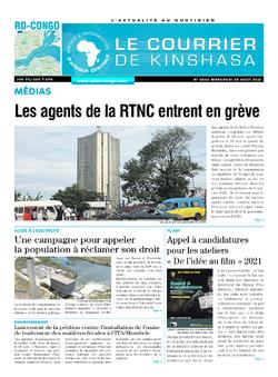 Les Dépêches de Brazzaville : Édition brazzaville du 25 août 2021