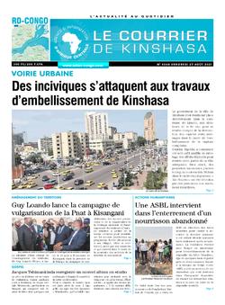 Les Dépêches de Brazzaville : Édition brazzaville du 27 août 2021