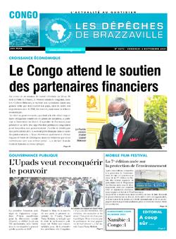 Les Dépêches de Brazzaville : Édition brazzaville du 03 septembre 2021