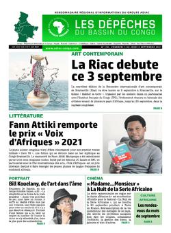 Les Dépêches de Brazzaville : Édition du 6e jour du 04 septembre 2021