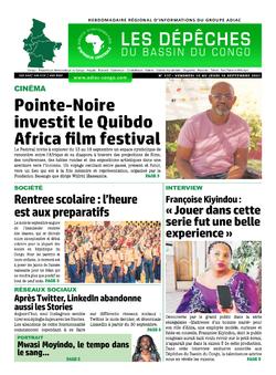 Les Dépêches de Brazzaville : Édition du 6e jour du 11 septembre 2021